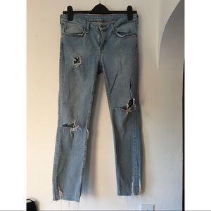 Zara Basic Z1975 Ripped Jeans